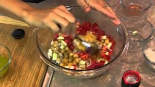 Chick Pea & Lentil Salad : Eat Right & Eat Delicious