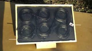 Solar Water Heater - Harvey Mudd College - Kona Coffee Farmers Association clinic team