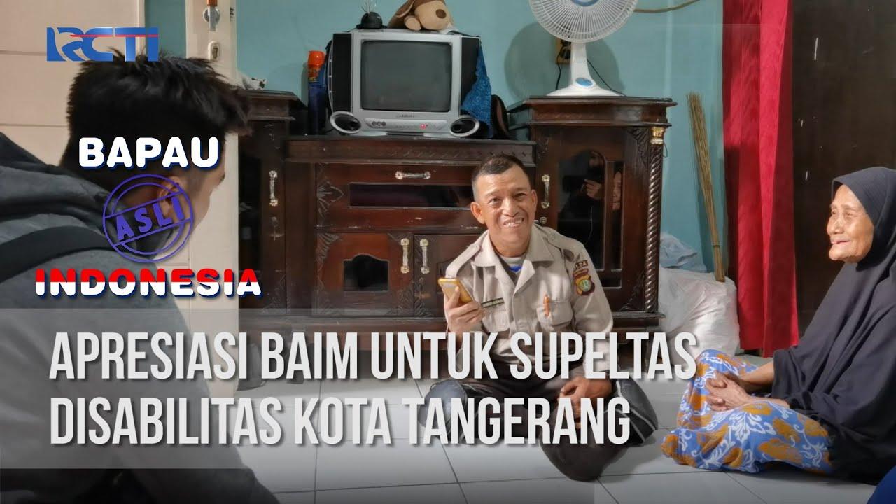 BAPAU ASLI INDONESIA - Apresiasi Baim Untuk Supeltas Disabilitas Kota Tangerang [03 Juli 2020]