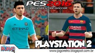 Pro Evolution Soccer 2016 (PES World Edition 2016) no Playstation 2