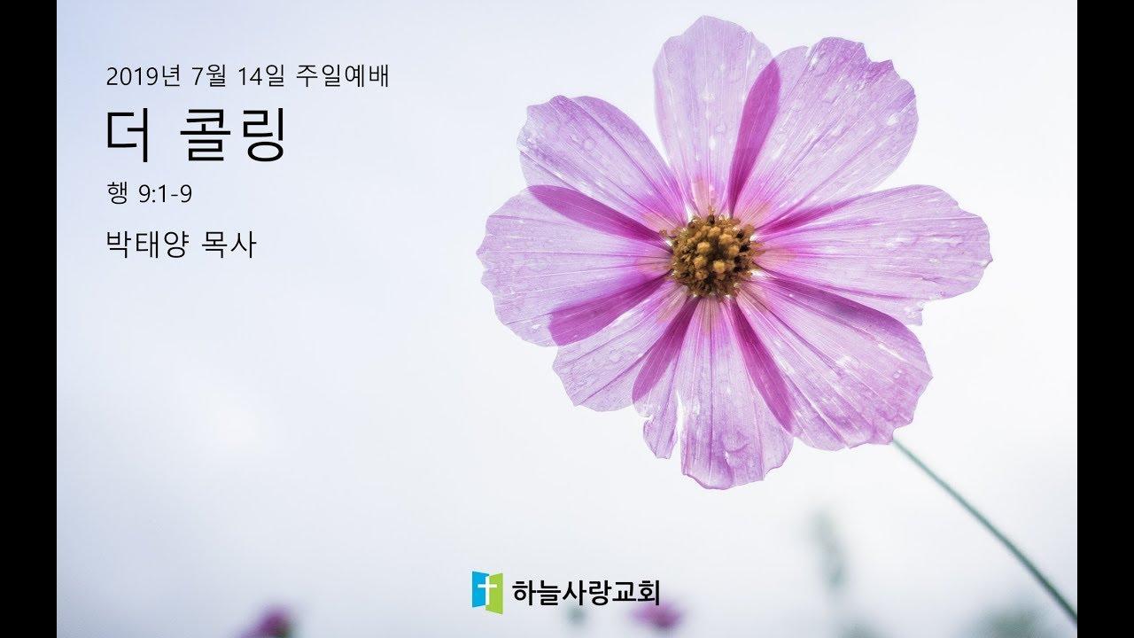 외부강사 08 행 9:1-9 더 콜링/ 박태양 목사/TGC코리아 대표 겸 CTC 코리아 사무총장