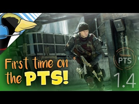 CONSOLE PLEB PLAYS THE PTS! - The Division PTS Livestream (1.4)
