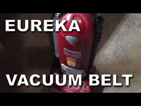 How to Replace Eureka Upright Vacuum Belt The Boss R Style