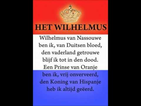 Het Wilhelmus (volkslied van Nederland)