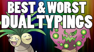 Top 5 Best and Worst Pokemon Dual Types - Top 5 Best Dual Types and Top 5 Worst Dual Types
