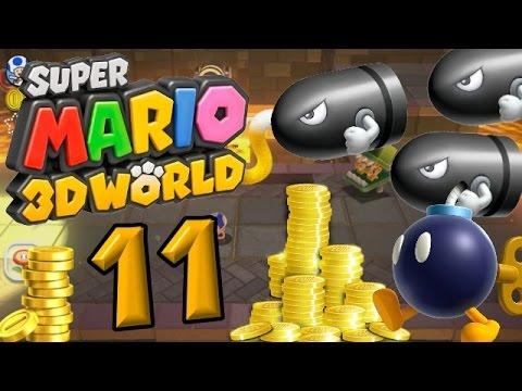 Super Mario 3D World Part 11: Ein goldener Zug voller Münzen!