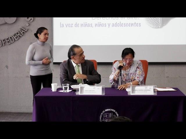 Discurso Nashieli Ramírez en la Convocatoria Derechos al aire