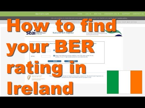 How to find your BER rating in Ireland