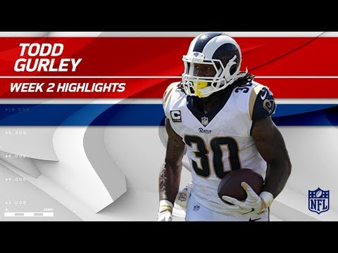 Todd Gurley's Strong Day vs. Washington | Redskins vs. Rams | NFL Wk 2 Player Highlights