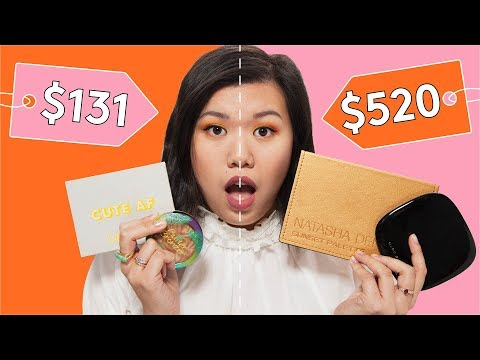 High End vs. Drugstore Cruelty Free Makeup | Beauty With Mi | Refinery29