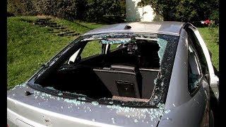 Wraki samochodów straszą mieszkańców ul. Narutowicza w Olsztynie