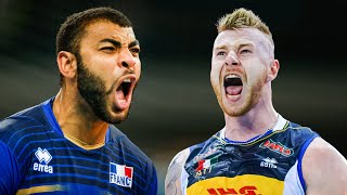 Who is the KING !!? Ivan Zaytsev VS Earvin N'Gapeth | Crazy Volleyball Battle (HD)