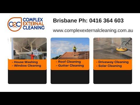 Complex External Cleaning Brisbane