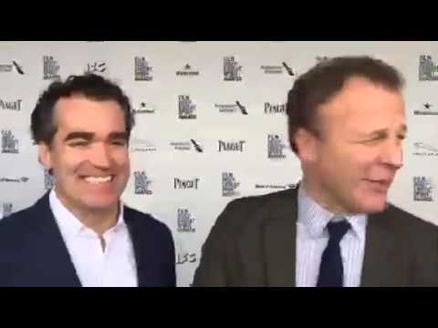 Brian d'Arcy James and Tom McCarthy at the Spirit Awards