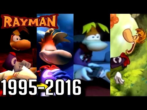 Rayman ALL ENDINGS 19952016 PS4, Wii U, Xbox, PS2, PS1, GC, N64