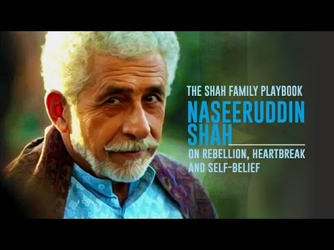 The Shah Family Playbook - Naseeruddin Shah @Algebra