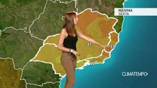 Previsão Sudeste - Alerta continua para o RJ