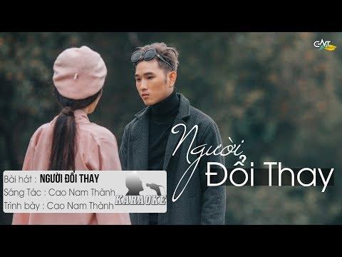 Người Đổi Thay - Cao Nam Thành | Karaoke / Beat Chuẩn