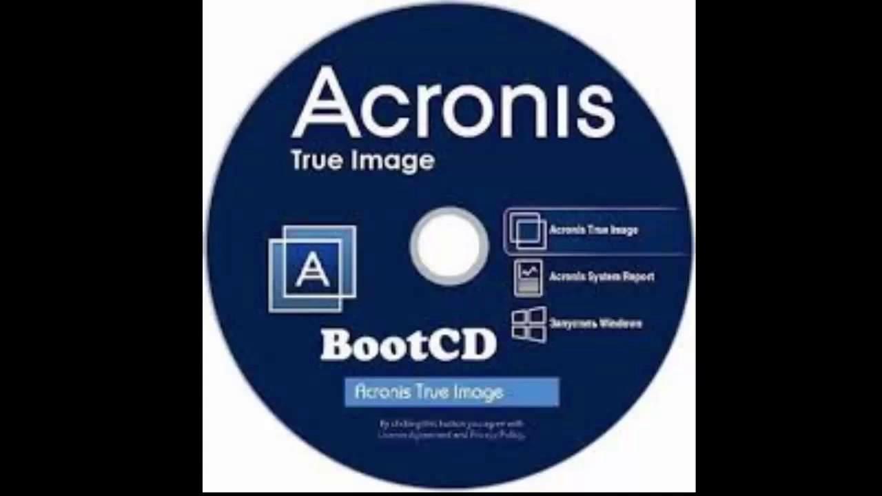 Acronis true image установка на флешку