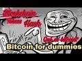 Forma más fácil de entender bitcoin for dummies, hash y blockchain