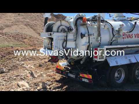 Sivas Vidanjör - Kanal Temizliğinden Çıkan Kum