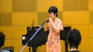友人のエレクトーン演奏で知った、お気に入りの曲をオカリナで演奏しま...