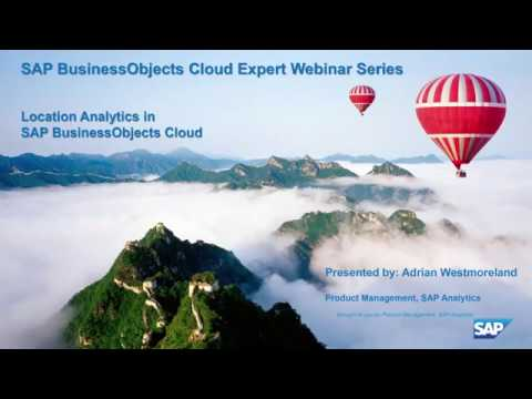 SAP Analytics Cloud: Geospatial Analysis