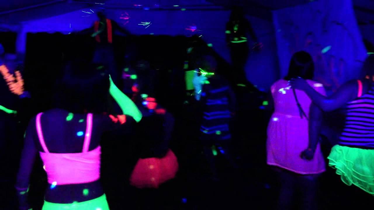Neon Nights Uv Glow Party Cornwall Dj Soundone Youtube