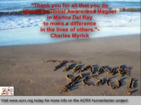 Westside Global Awareness Magnet Receive Tribute & Free Discount Cards By Charles Myrick