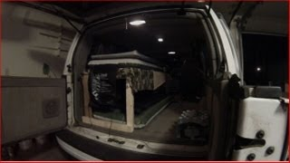 Building And Adding A Bunk Bed System In The Astro Van Used For Stealth Camping