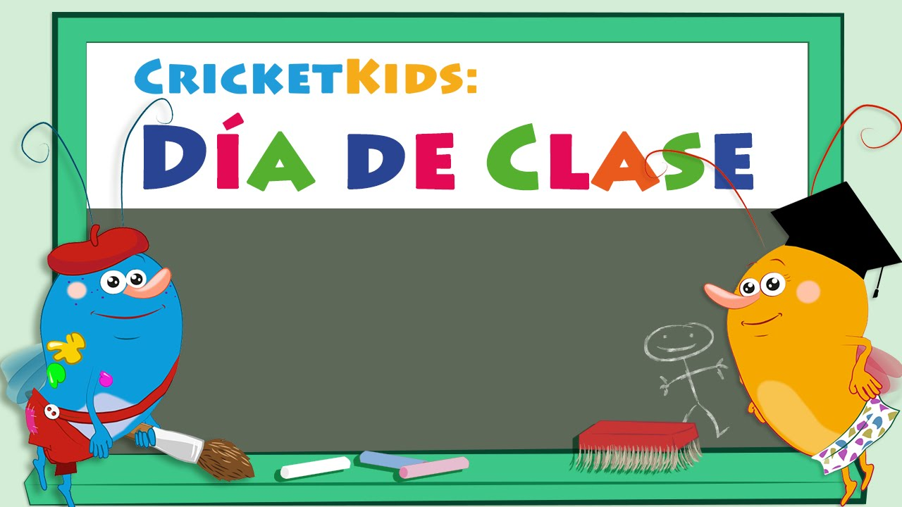 Cricket Kids: Día de Clase - App Trailer - YouTube