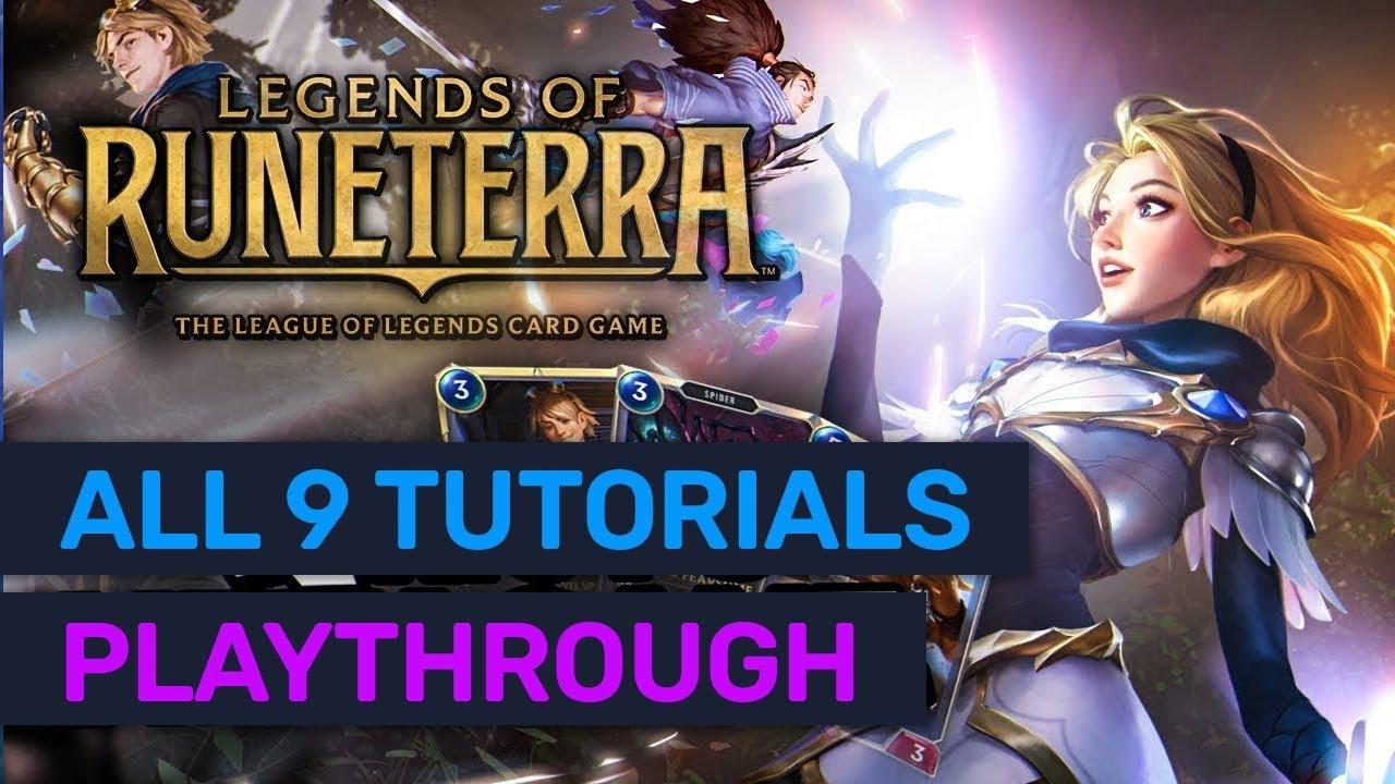 How to beat Darius Overwhelm tutorial in Legends of...