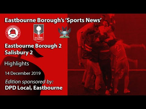 Eastbourne Boro Salisbury Goals And Highlights