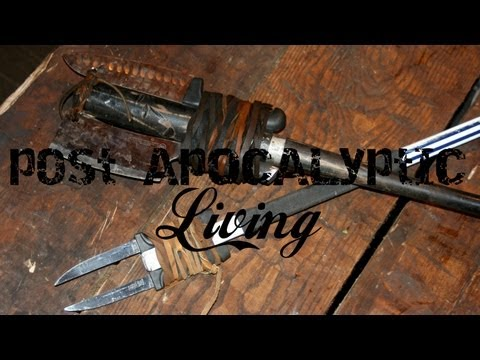 Post Apocalyptic Living: Leather Wrapping