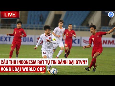 TRỰC TIẾP: Việt Nam vs Indonesia   Tuyền Văn Hoá tiên tri siêu đỉnh   Vòng loại World Cup 2022