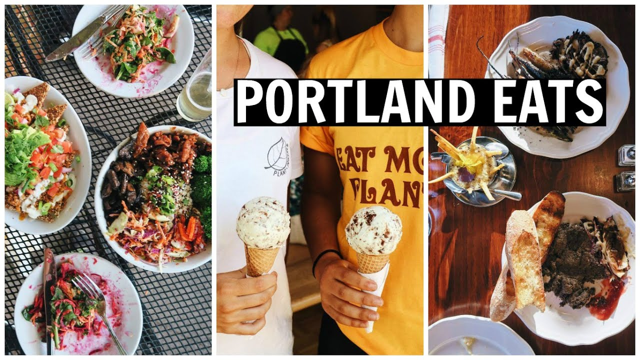 VEGAN in PORTLAND [ What I Ate ]