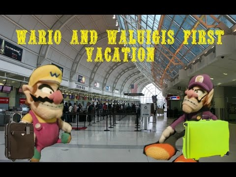 Wario and Waluigis first vacation (SMR MOVIE)