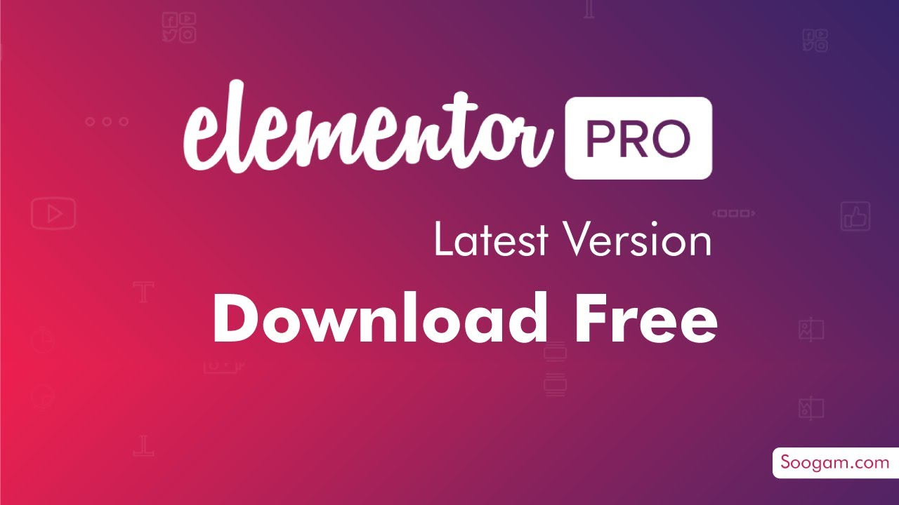 Elementor Pro license activate Free - Elementor WordPress ...