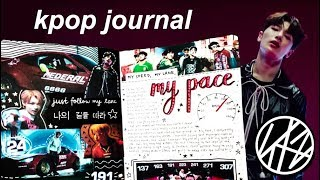 stray kids: kpop journal with me [ my pace ]