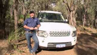 Land Rover Discovery 4 HSC 2013 - Track Test