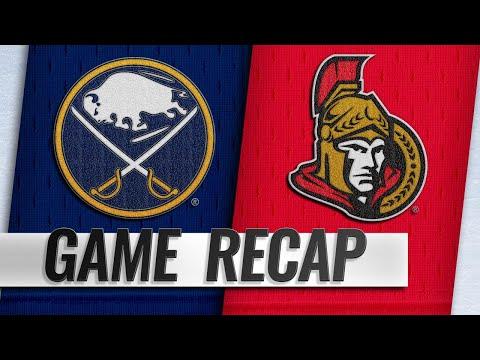 Anderson, DeMelo lead Senators past Sabres, 4-2