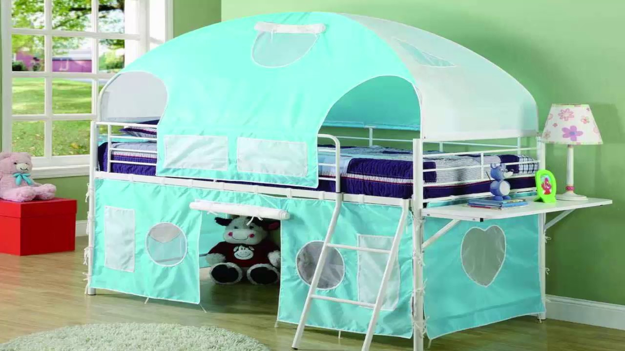 kids canopy bed curtains & kids canopy bed curtains - YouTube