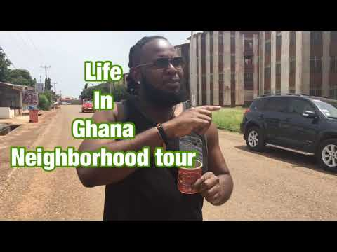 Life In Ghana Neighborhood Tour