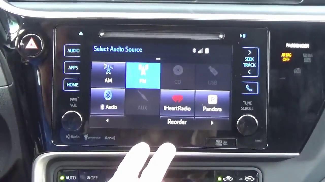 20172019 Toyota Corolla Factory Entune Gps Navigation