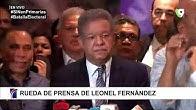 Leonel Fernandez denuncia software de resultados fue alterado - Rueda de Prensa SIN
