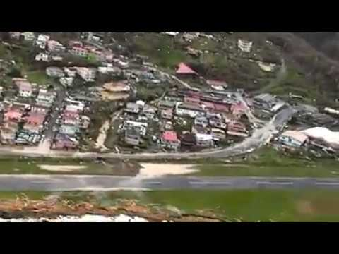 CDEMA: Aerial Footage of Dominica Post-Hurricane Maria