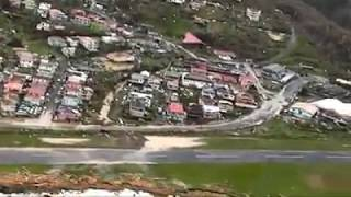 cdema aerial footage of dominica post hurricane maria