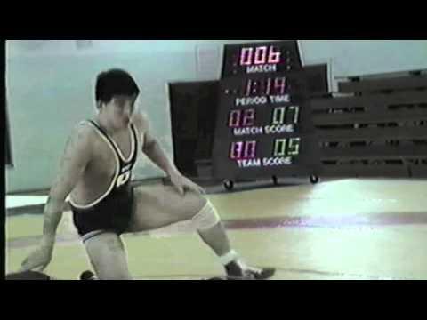 1988 Espoir World Cup: 74 kg Wayne Diduck (CAN) vs. Mitsuyuki Tasaki (JPN)