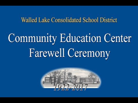 Community Education Center Farewell Ceremony