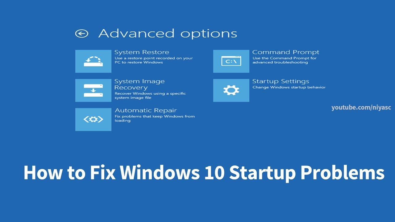 How to Fix Windows 10 Startup Problems (4 Ways)